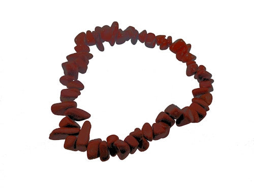 Red Jasper Chipstone Bracelet