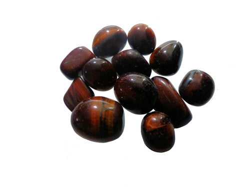 Red Tigers Eye Tumble Stones