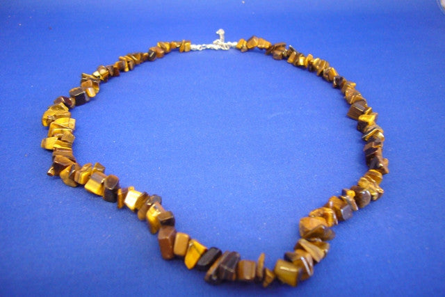 Tigers Eye Chipstone Necklace