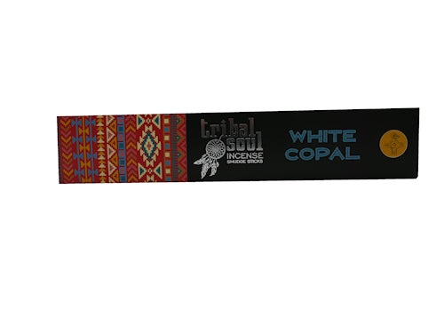 tribal soul white copal  incense