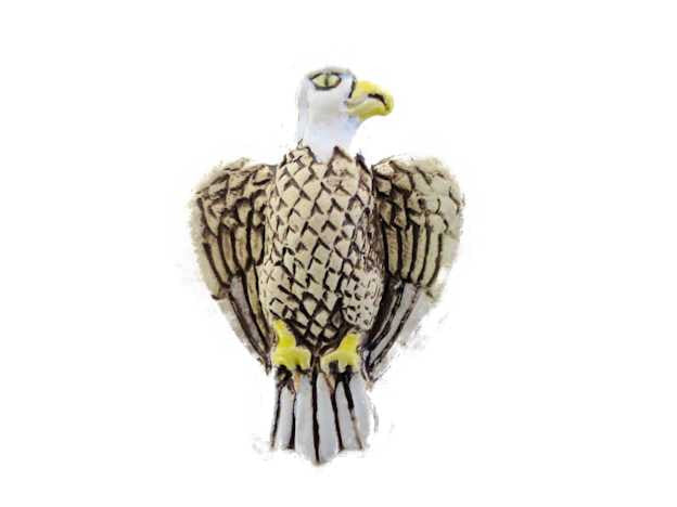 White Eagle Pendant