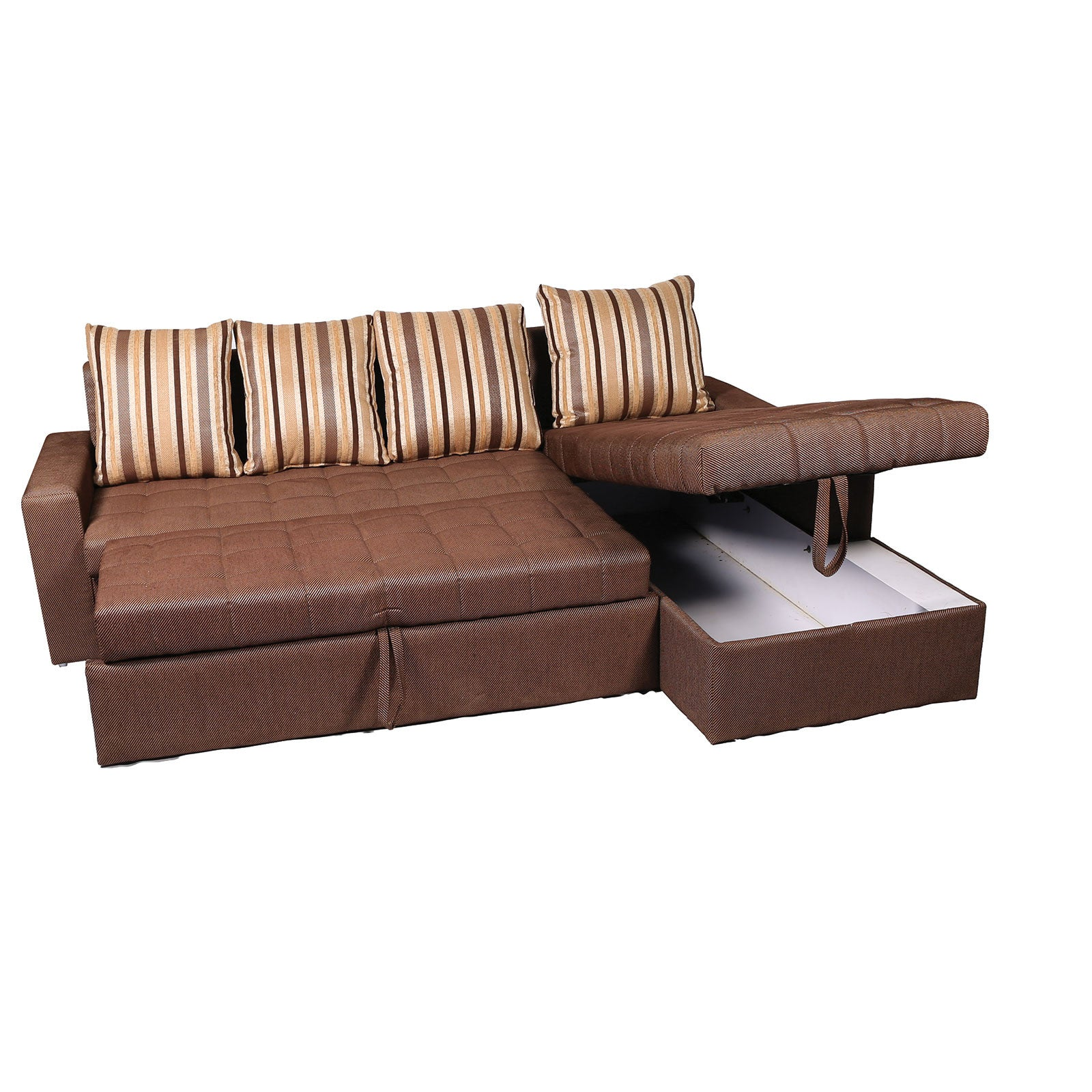 Mood of Wood Sofa cum bed with Storage L shape – Mood Wood