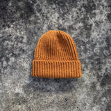 Twisted stitch hat / english