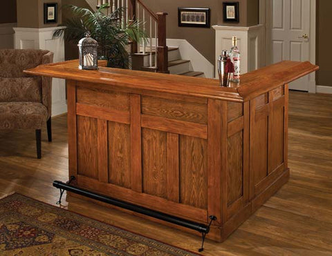 Hillsdale Classic Oak Side Home Bar 62576AXOAK