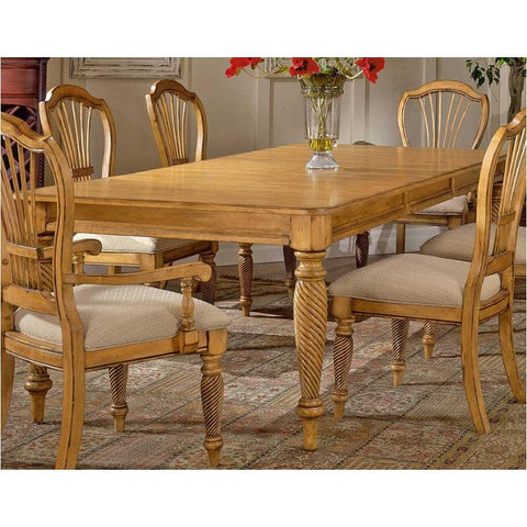 Hillsdale Wilshire Antique Pine Rectangular Dining Table 4507-819