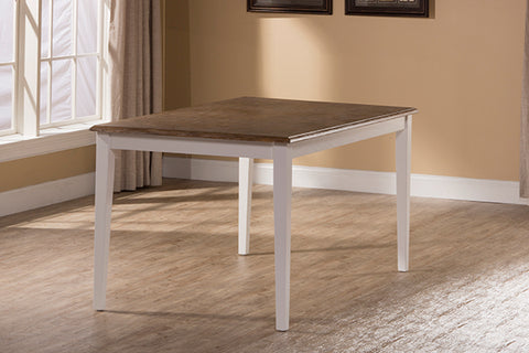 Hillsdale 5791-814 Bayberry / Embassy Rectangle Dining Table - White