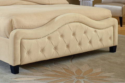 Hillsdale 1566-682 Trieste Fabric Footboard - King / Cal King