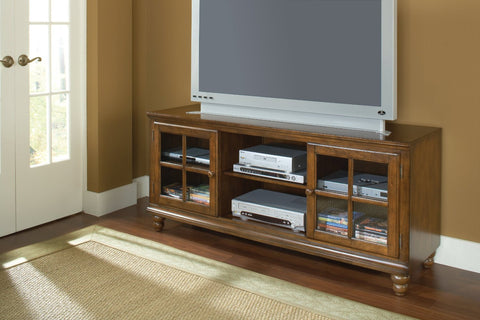 "Hillsdale 6179-880W Grand Bay 61"" Entertainment Console - HillsdaleSuperStore"