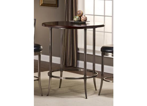 Hillsdale 5174-840 Maddox Bar Height Bistro Table