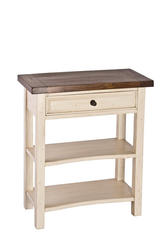Hillsdale Furniture 5465-889W Tuscan Retreat®  Single Drawer Console Table - HillsdaleSuperStore
