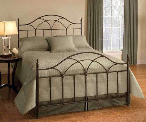 Hillsdale Furniture 1473-500 Aria Bed Set - Queen - Rails not included - HillsdaleSuperStore