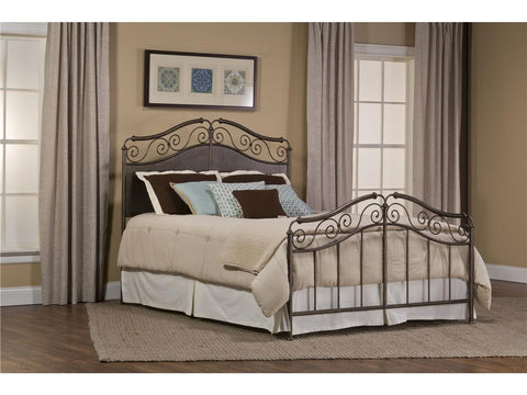 Hillsdale Furniture 1220-660 Ravella Bed Set - King - Rails not included - HillsdaleSuperStore