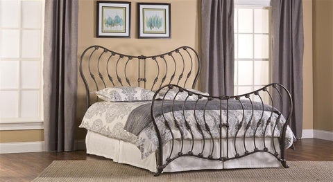 Hillsdale Furniture 1303BKR Bennington Bed Set - King - with Rails - HillsdaleSuperStore
