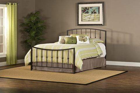 Hillsdale Furniture 1738-500 Sausalito Bed Set - Queen - Rails not included - HillsdaleSuperStore