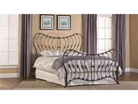 Hillsdale Furniture 1303-660 Bennington Bed Set - King - Rails not included - HillsdaleSuperStore