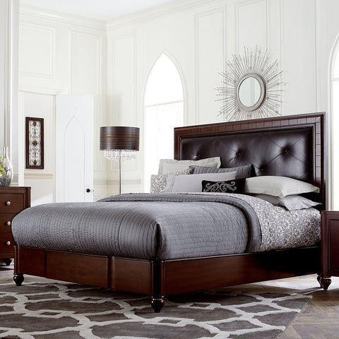 Hillsdale Furniture 1225BQR Roma Bed - Queen - with Rails - HillsdaleSuperStore