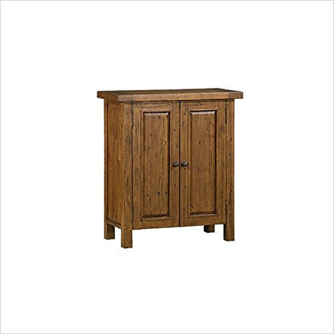 Hillsdale Furniture 5225-945W Tuscan Retreat® 2 Door Small Cabinet - HillsdaleSuperStore