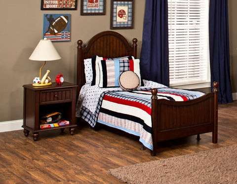Hillsdale Furniture 1125BF Westfield Bed - Full - Rails not included - HillsdaleSuperStore