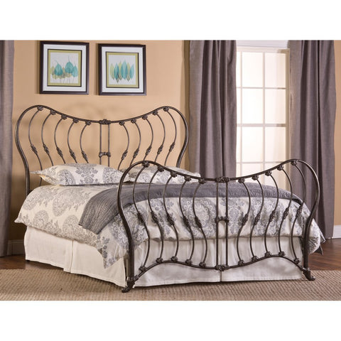 Hillsdale Furniture 1303BQR Bennington Bed Set - Queen - with Rails - HillsdaleSuperStore