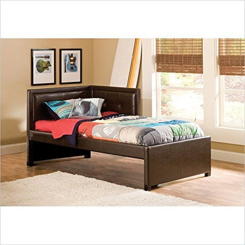 Hillsdale Furniture 1205BTWR Frankfort Bed Set - Twin - with Rails - HillsdaleSuperStore