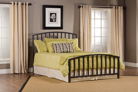 Hillsdale Furniture 1202-660 Apollo Bed Set - King - Rails not included - HillsdaleSuperStore