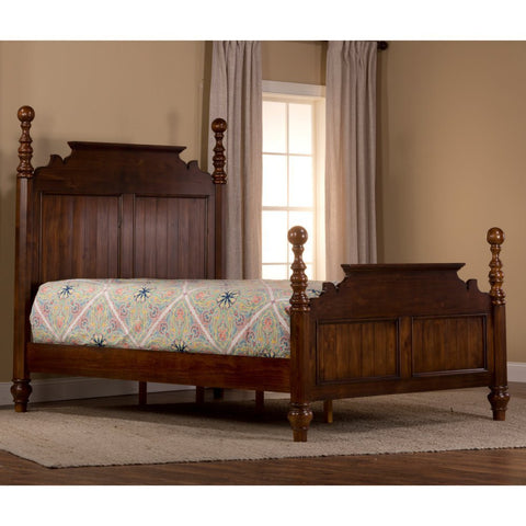 Hillsdale Furniture 1215BQRP Pine Island Post Bed - Queen - HillsdaleSuperStore