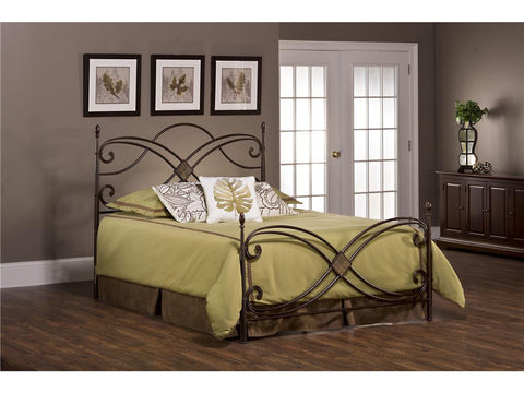 Hillsdale Furniture 1163-660 Barcelona Bed Set - King - Rails not included - HillsdaleSuperStore