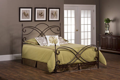 Hillsdale Furniture 1163BFR Barcelona Bed Set - Full - with Rails - HillsdaleSuperStore