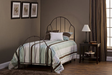 Hillsdale 1064BFR Marston Bed Set - Full - w/Rails - HillsdaleSuperStore