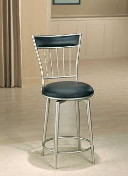"Hillsdale Benson 26"" Swivel Counter Stool 4601-826 - HillsdaleSuperStore"