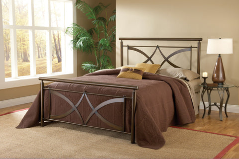 Hillsdale 1752BQR Marquette Bed Set - Queen - w/Rails - HillsdaleSuperStore