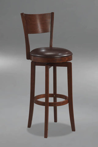 Hillsdale Planview Archer 24.5 Inch Swivel Counter Stool in Brown 4166-826 - HillsdaleSuperStore