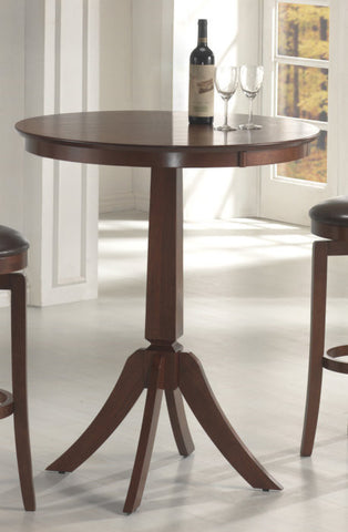 Hillsdale Plainview Bistro Bar Height Table in Brown 4166-835 - HillsdaleSuperStore