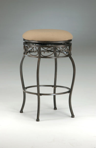 Hillsdale Lincoln 30 Inch Backless Swivel Barstool 4336