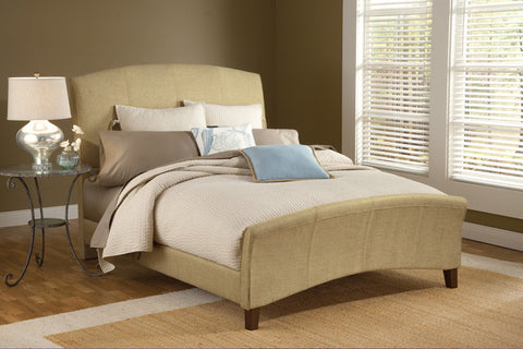Hillsdale 1728BKR Edgerton Bed Set - King - w/Rails - HillsdaleSuperStore