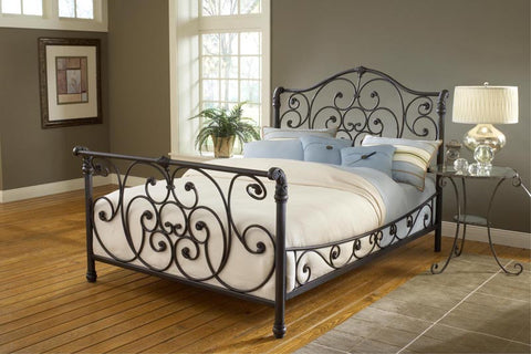 Hillsdale 1579BCKR Mandalay Bed Set - Cal King - w/Rails - HillsdaleSuperStore