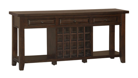 Hillsdale Furniture 4793-891W Tuscan Retreat Sideboard w/ 20 Bottle Wine Storage - HillsdaleSuperStore