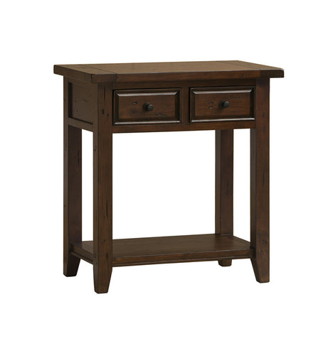 Hillsdale Furniture 4793-896W Tuscan Retreat 2 Drawer Hall/Console Table - HillsdaleSuperStore