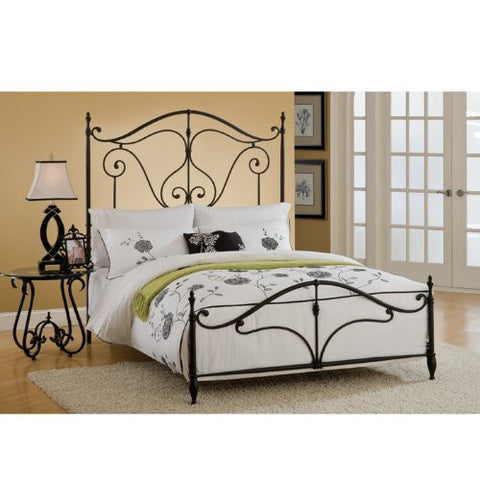 Hillsdale 1013BKR Caffrey Bed Set - King - with Rails - HillsdaleSuperStore