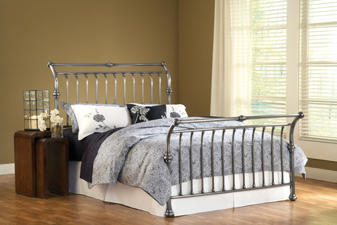 Hillsdale 1666BKR Markam Bed Set - King - w/Rails - HillsdaleSuperStore