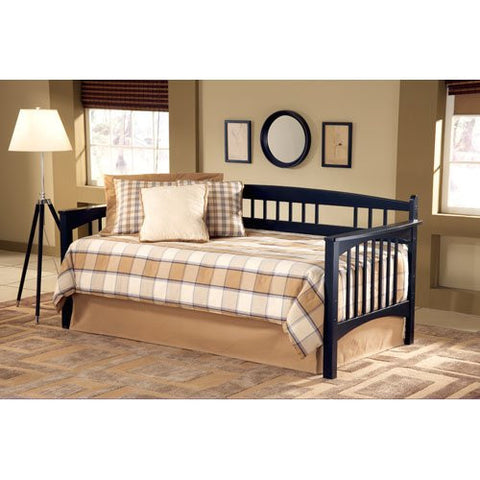 Hillsdale 1650DBLHTR Mission Daybed with Suspension Deck and Roll-Out Trundle Set - HillsdaleSuperStore