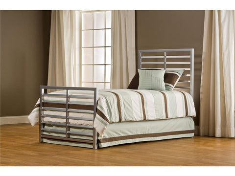 Hillsdale 1720BTW Latimore Bed Set - Twin - Rails not included - HillsdaleSuperStore