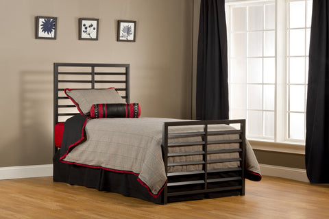 Hillsdale 1711BTWR Latimore Bed Set - Twin - w/Rails - HillsdaleSuperStore