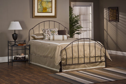 Hillsdale 1064BQR Marston Bed Set - Queen - w/Rails - HillsdaleSuperStore