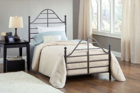 Hillsdale 1686BTW Trenton Bed Set - Twin - Rails not included - HillsdaleSuperStore