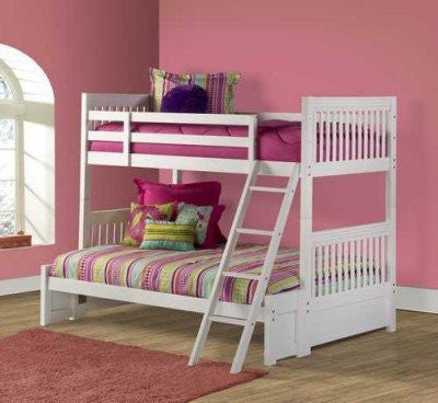 Hillsdale 1528BBF  Lauren Bunk Bed - Twin/Full - HillsdaleSuperStore