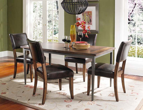Hillsdale 4671DTBRC4 Cameron 5-Piece Rectangle Dining Set w/Parson Chairs - HillsdaleSuperStore