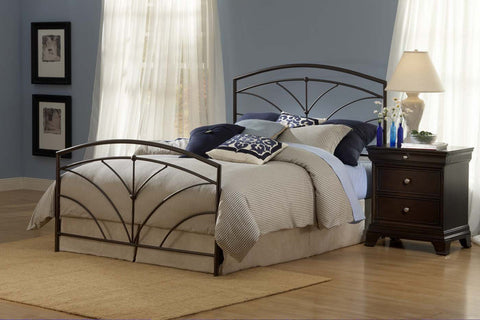 Hillsdale 1568BK Thompson Bed Set - King - Rails not included - HillsdaleSuperStore