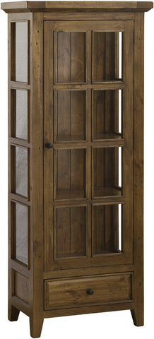 Hillsdale Furniture 5225-884W Tuscan Retreat Small Display Cabinet - HillsdaleSuperStore