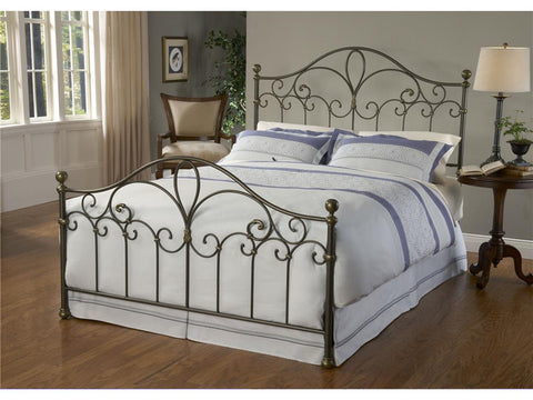 Hillsdale 1520BK Meade Bed Set - King - Rails not included - HillsdaleSuperStore